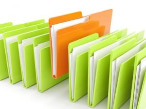 organizar carpetas y archivos