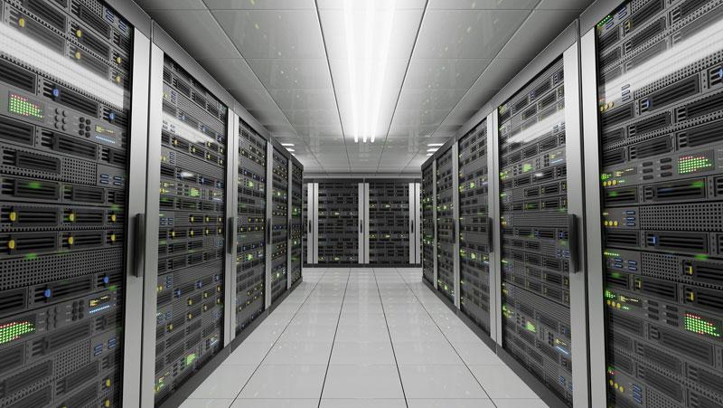 Datacenter con servidores constituyen la Nube.