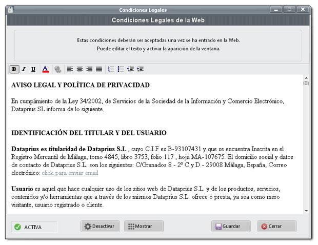 editar-condiciones-legales-dataprius