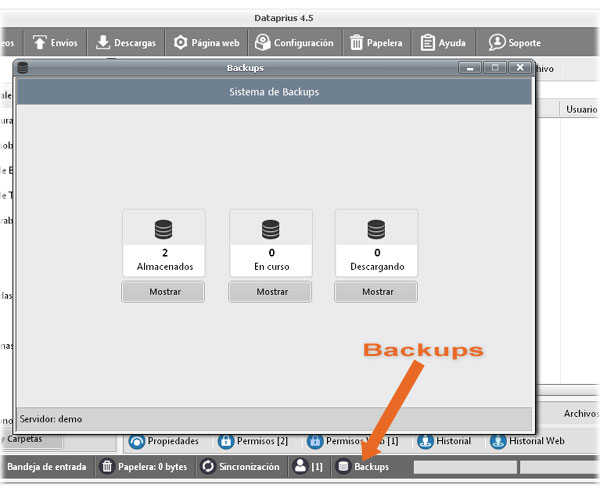 ventana-backups-dataprius