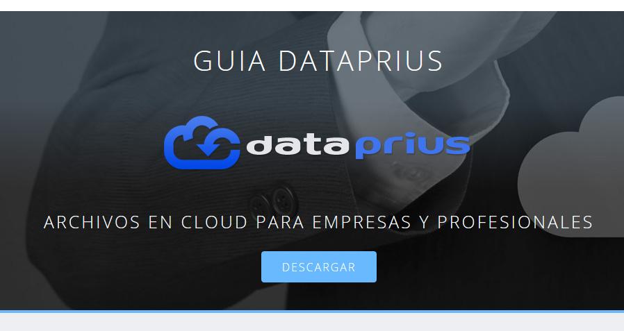 Publicada la nueva guía de Dataprius. Más sencilla y didáctica.