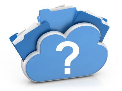 cloud seguro interrogante - Dataprius