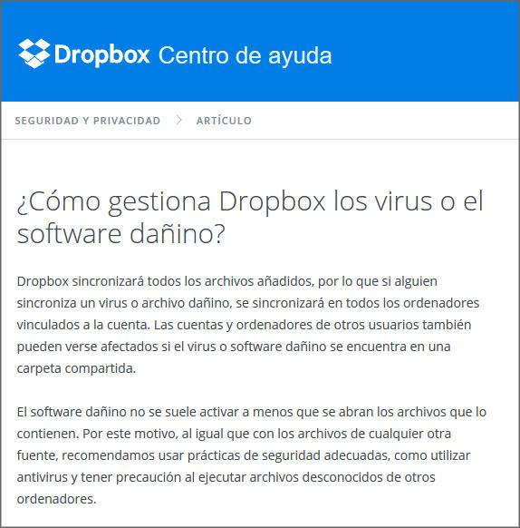 dropbox transmite ransomware cryptolocker