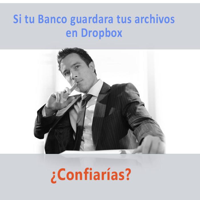 empresa en la nube. reputacion dropbox