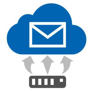 email y contactos en la nube