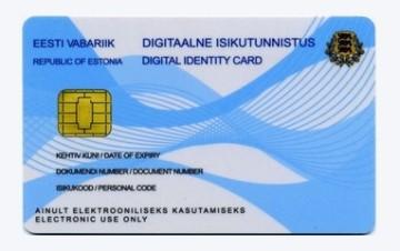 id eresident card