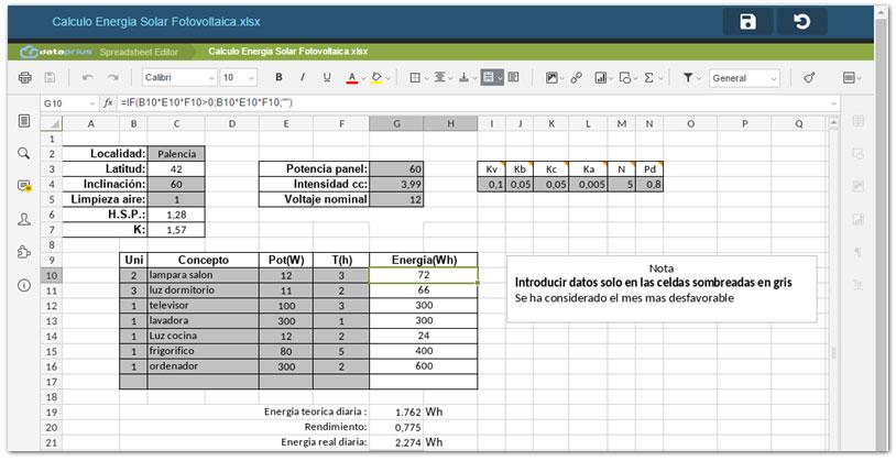 editor de Excel para pc