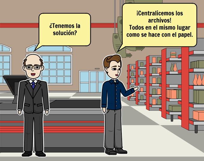 gestión documental centralizar archivos