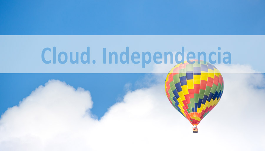 cloud computing proporciona independencia a las empresas