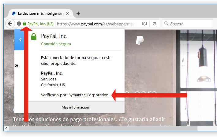 certificado paypal