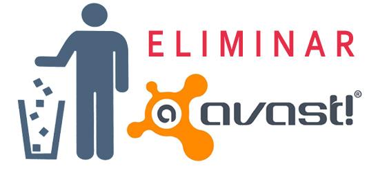 Eliminar Avast