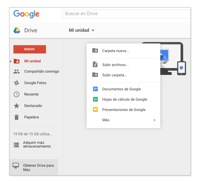 Captura Google Drive