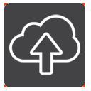 Icono Nube subir