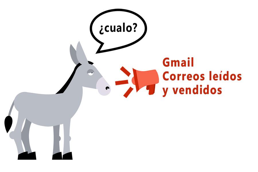 gmail correos leídos y vendidos