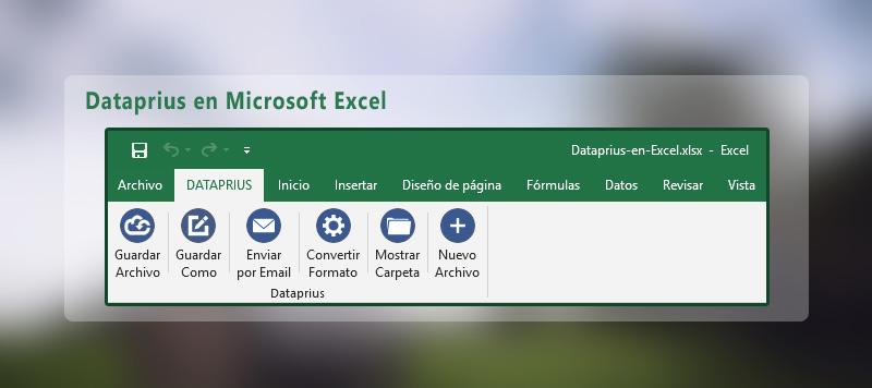 Dataprius en Excel