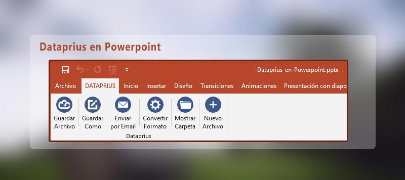Dataprius en Powerpoint