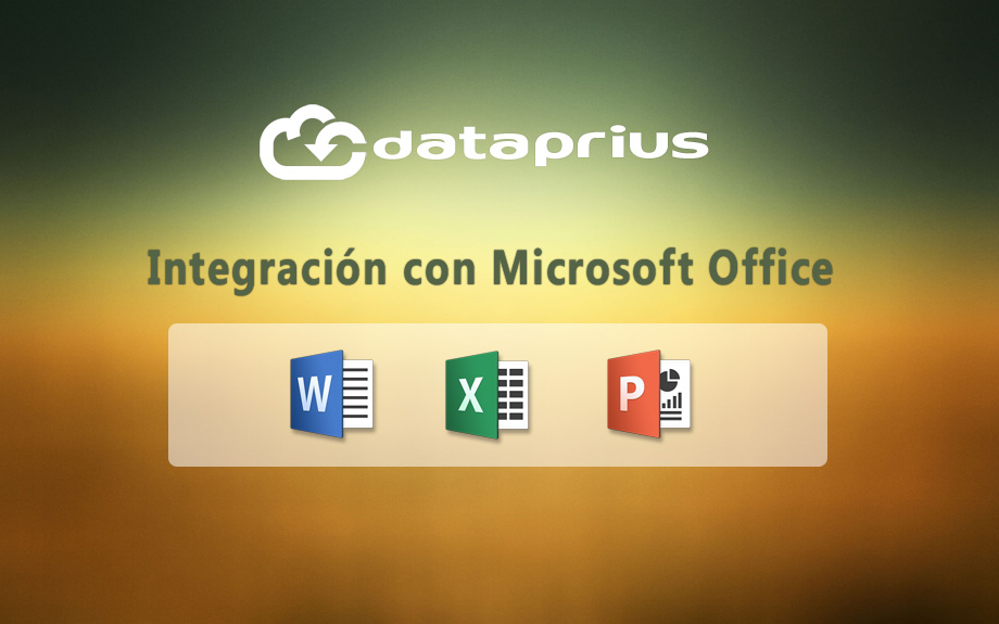 Dataprius integración Office