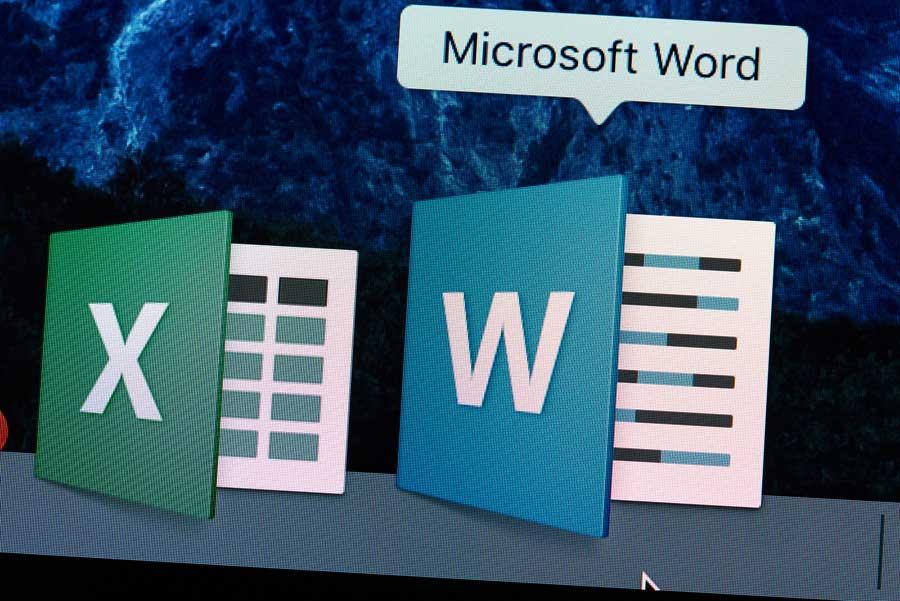 Ilustración Microsoft Word