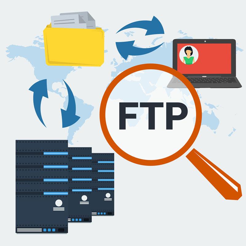 Transfiriendo archivos con FTP