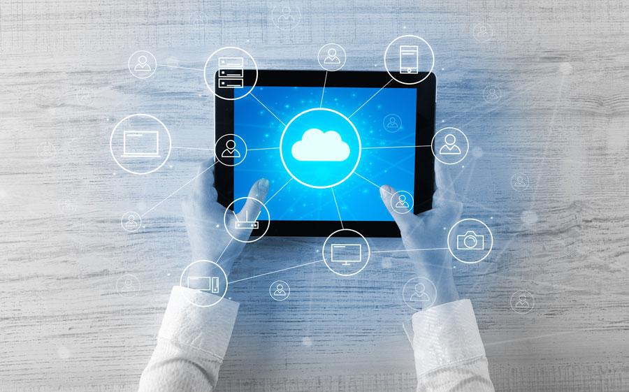 Acceso a servicios en la nube desde una tablet