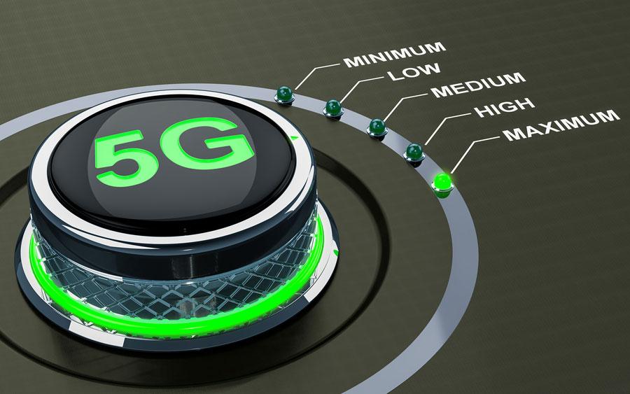 Ilustración velocidad 5G