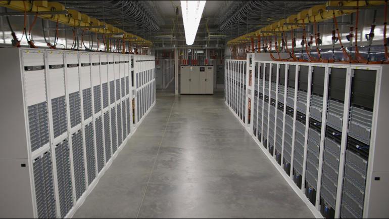Interior de un Datacenter de Microsoft