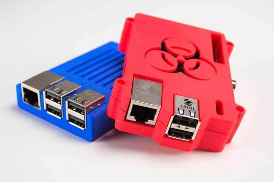 Raspberry son PCs de tamaño reducido