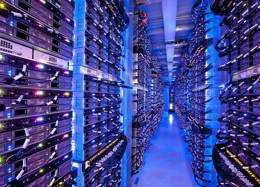 Imagen armarios rack de Datacenter Microsoft Azure
