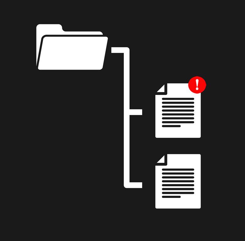 Archivos duplicados aumentan posibilidad de conflictos