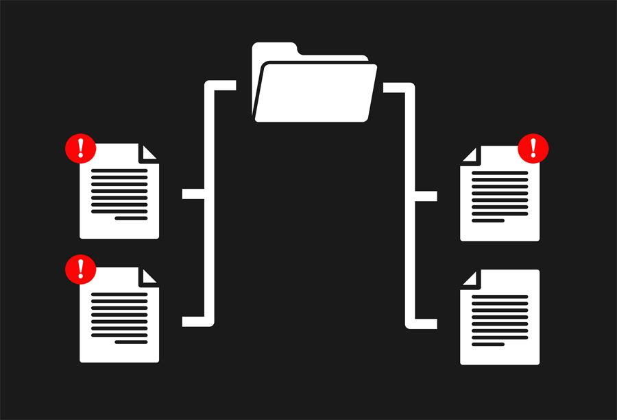Multiples copias de archivos son posibles conflictos