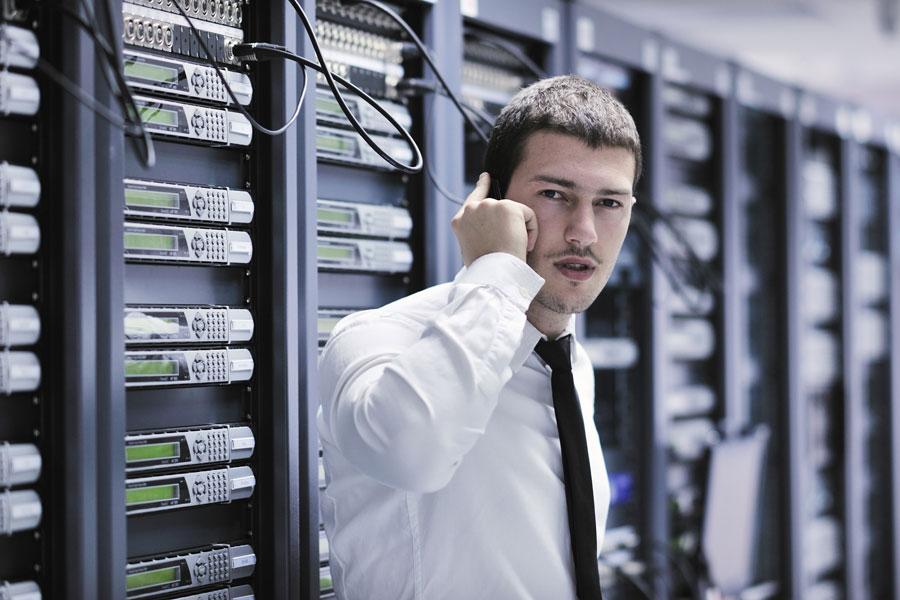 Administrador informático en Datacenter