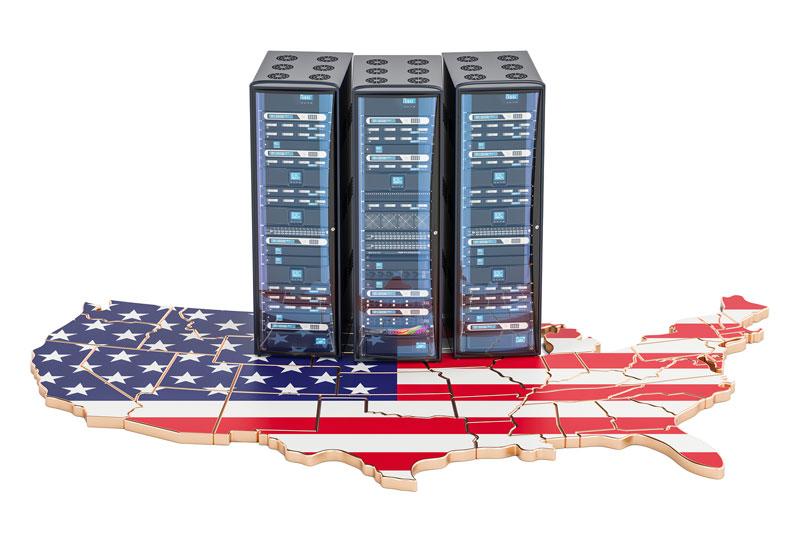 Datos almacenados en Estados Unidos