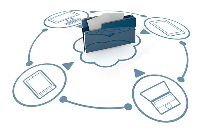 Carpeta en la Nube con acceso desde dispositivos