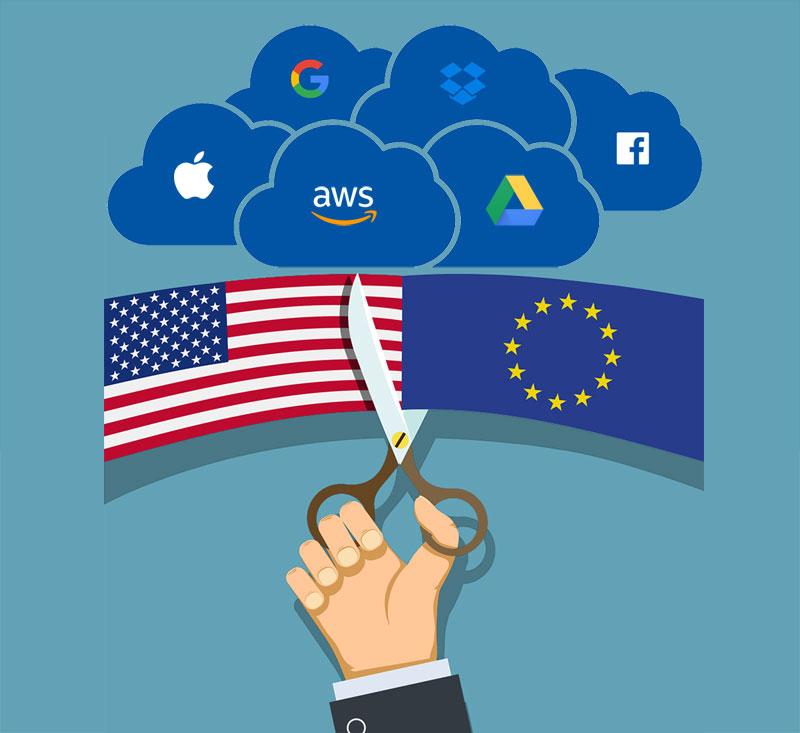 Europa no confianza en los proveedores cloud de estados unidos