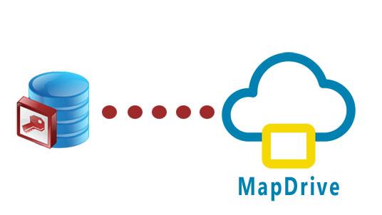Guardar base de datos Access en MapDrive.