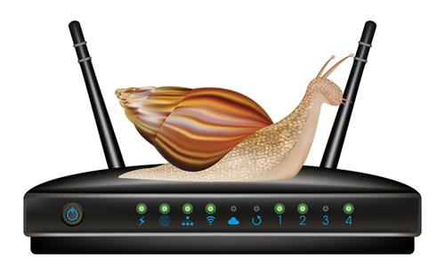 Router lento, conexion lenta