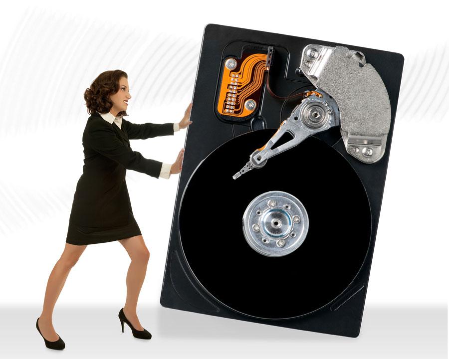 Eliminando disco duro. Almacenamiento físico.