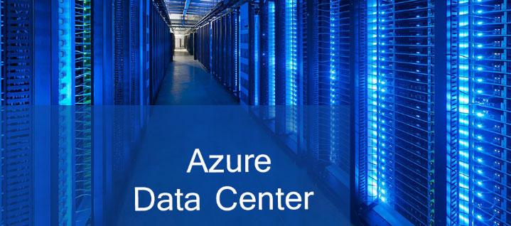 Data center Azure almacenamiento cloud