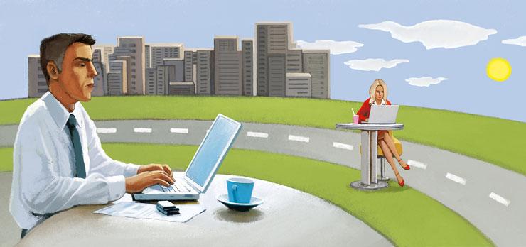 Trabajo remoto, teletrabajo o trabajo desde cualquier lugar.