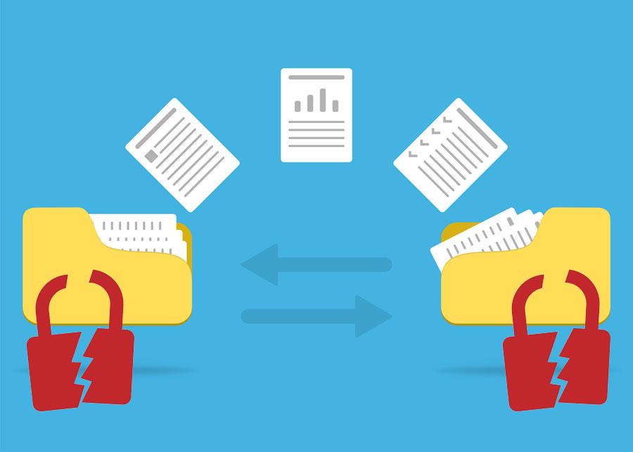 Distribucion de archivos de forma insegura