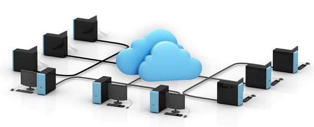 Intranet en la Nube. Ordenadores conectados en red.