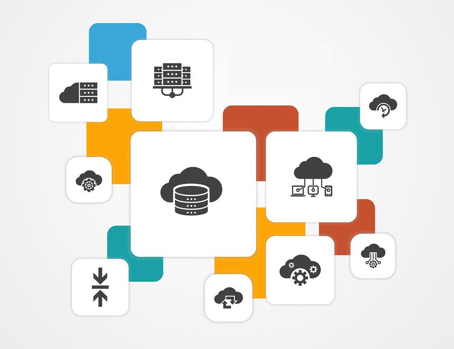 Diferentes categorías servicios cloud computing para empresas