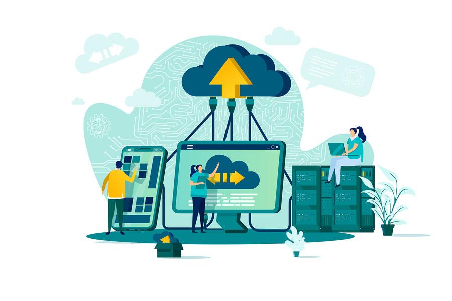 Conectados almacenamiento Nube