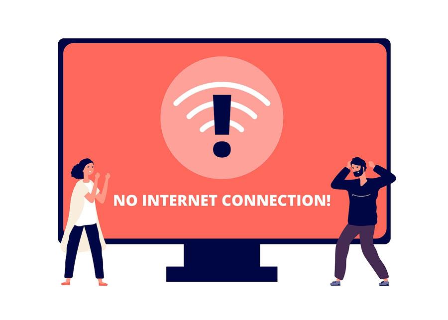 Perder conexión Internet