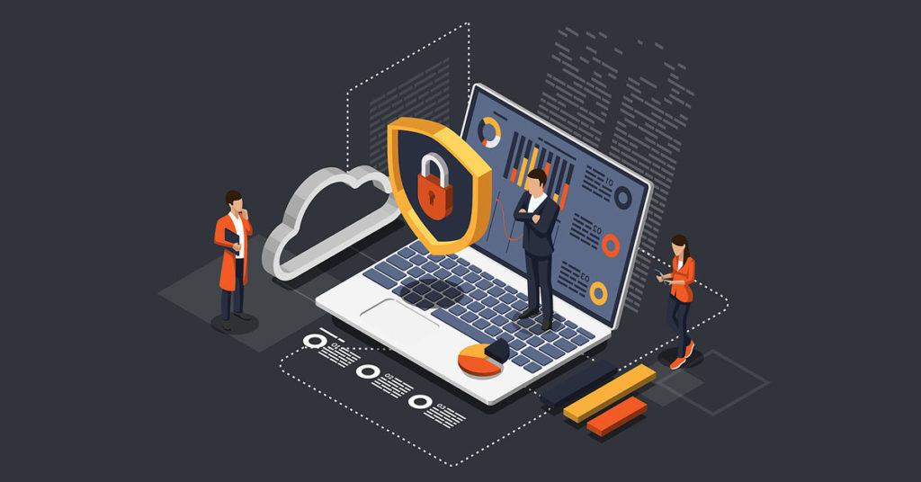 Seguridad almacenamiento cloud.