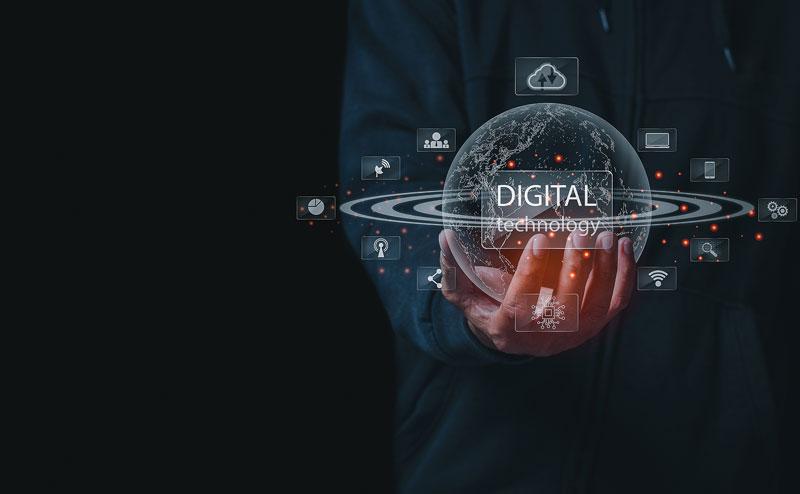 Tecnología Cloud. Mundo digital.