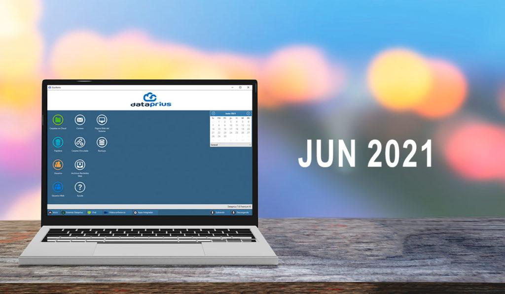 Dataprius actualización Junio 2021