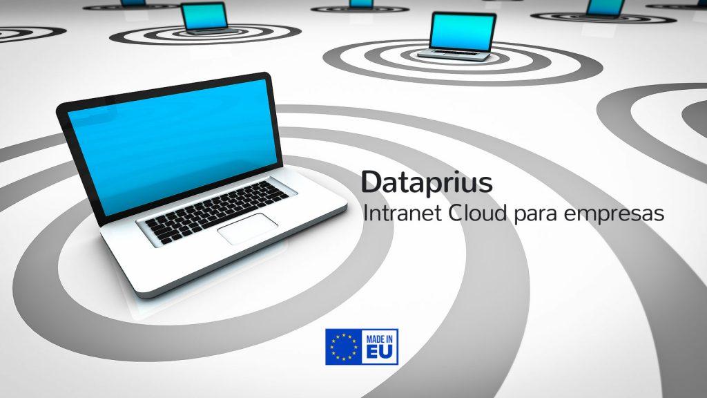 Dataprius. Intranet en Cloud para los archivos de la empresa.