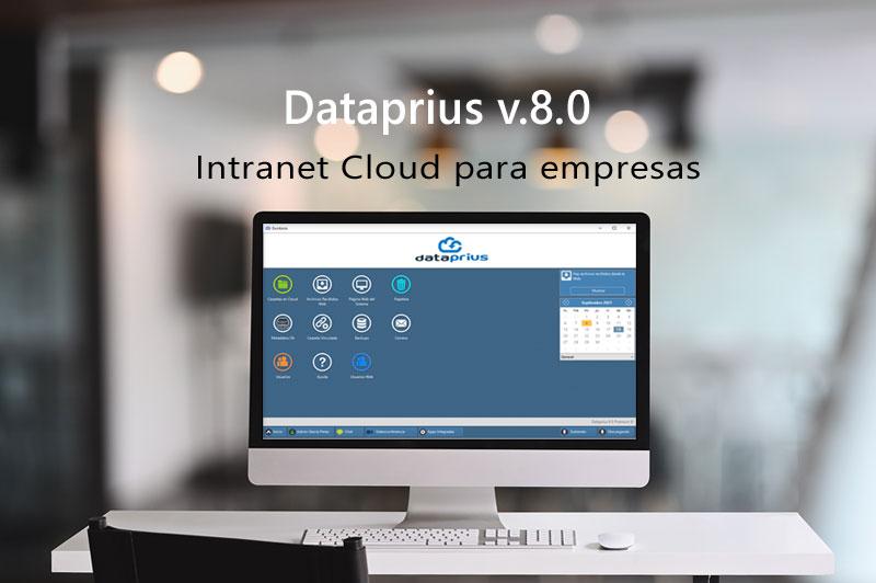 Dataprius intranet en Cloud para empresas